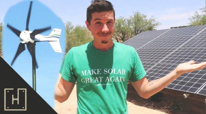 Micro Wind Turbines… Are They Worth It? (Off Grid Solar)